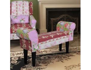 Banca patchwork stil floral