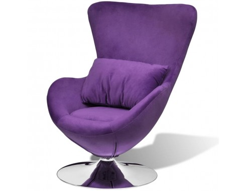 Scaun ou rotativ, cu perna, violet,...