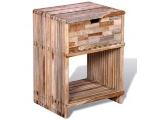 Noptiera cu sertar, lemn de...