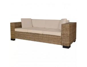 Set canapea de 3 locuri din...