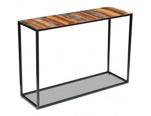 Masa consola, lemn reciclat...