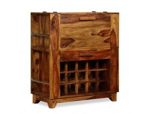 Dulap bar din lemn masiv de...