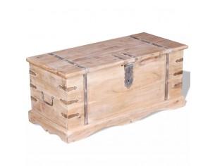 Cufar din lemn de acacia