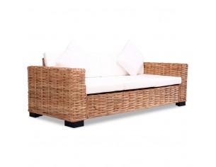 Canapea cu 3 locuri, ratan...