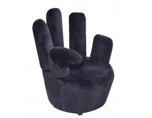 Scaun model mana, negru,...