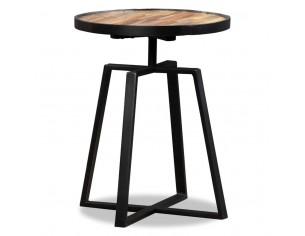 Masa laterala rotunda, lemn...