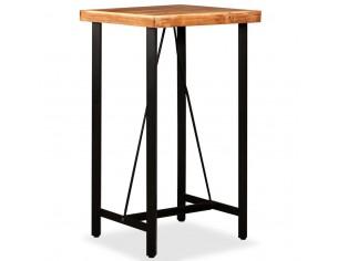 Masa de bar, lemn masiv de...