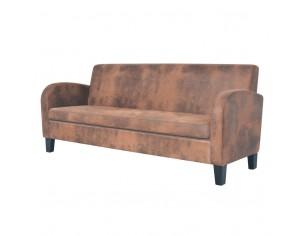 Canapea cu 3 locuri, velur...