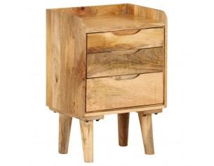 Noptiera din lemn masiv de...