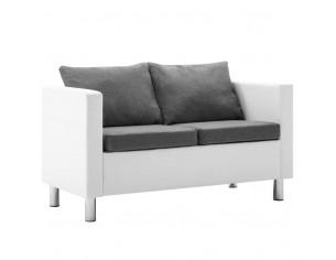 Canapea cu 2 locuri, piele...