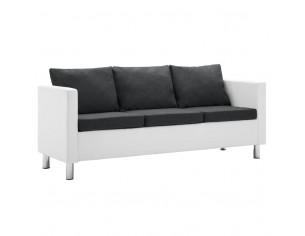 Canapea cu 3 locuri, piele...