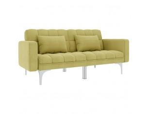 Canapea extensibila, verde,...